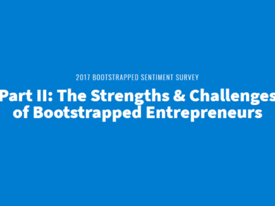 2017 Bootstrap Survey Part II : The Strengths &  Challenges